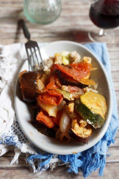 Korfui sült zöldségek