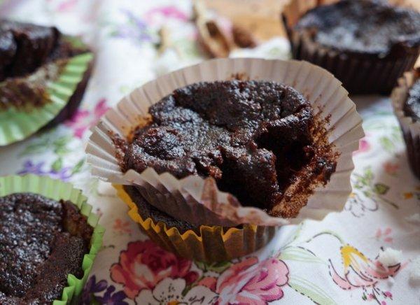 Csokis, banános paleo muffin